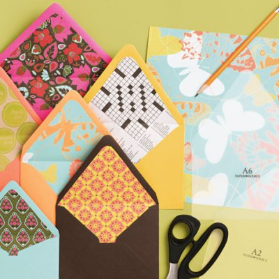 Paper Source Envelope Liner Templates