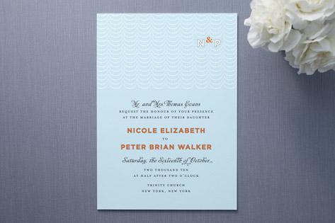 Modern Swag Wedding Invitations Cheree Berry