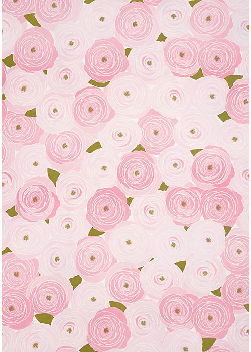 Snow & Graham Garden Roses Wrapping Paper