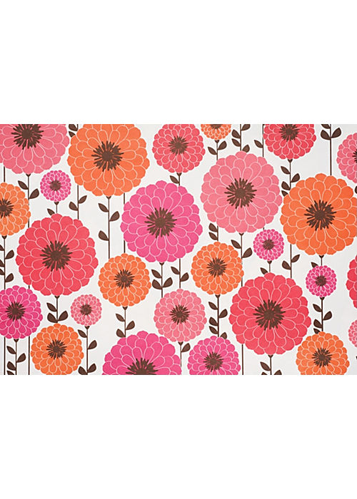 Snow & Graham Zinnia Wrapping Paper