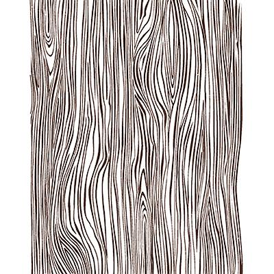 Woodgrain Rubber Stamp