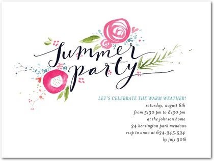 Inspired garden party invitations paper crave inspired garden summer party invitations stopboris Image collections