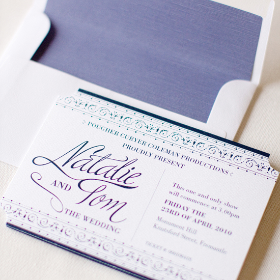 Dizzy Wizzy Wedding Invitations