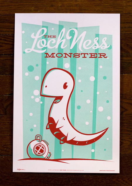 Familytree Monster Friends Loch Ness