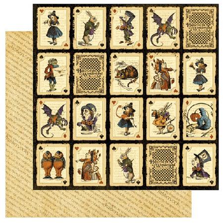 Graphic 45 Halloween In Wonderland Collection Paper Crave