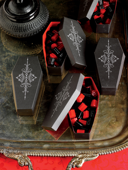 Martha Stewart Crafts Halloween Coffin Treat Boxes