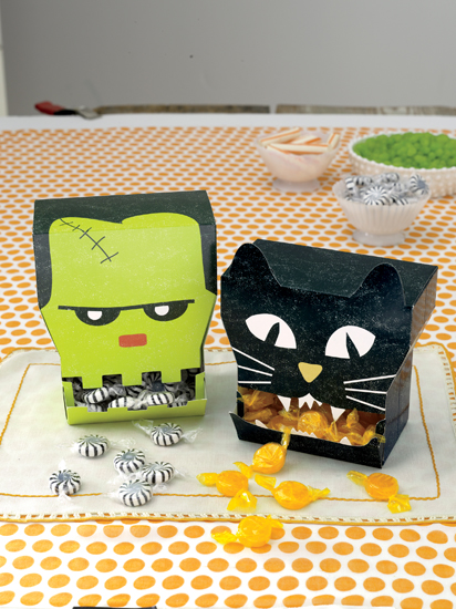 Martha Stewart Crafts Halloween Candy Dispensers
