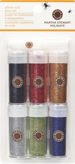 Martha Stewart Halloween Craft Glitter