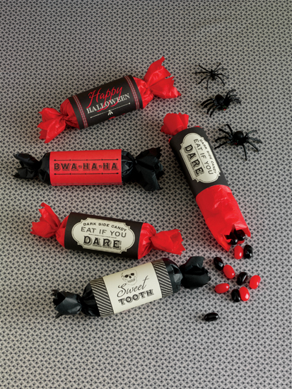 Martha Stewart Crafts Vampire Treat Wrappers