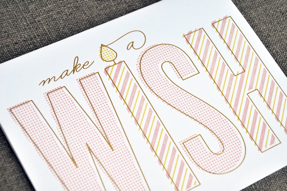 The social type letterpress birthday cards paper crave the social type letterpress birthday cards filmwisefo Images