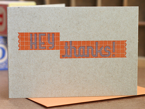 Starshaped Press Letterpress Blox Cards