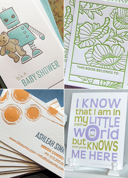 Sweet Harvey Letterpress