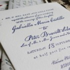 Vintage Airmail Wedding Invitations