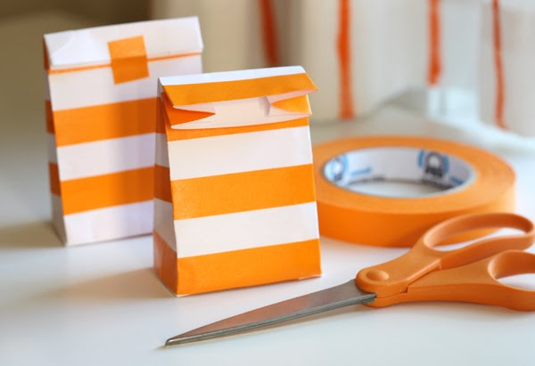 How About Orange Masking Tape Envelope Bags