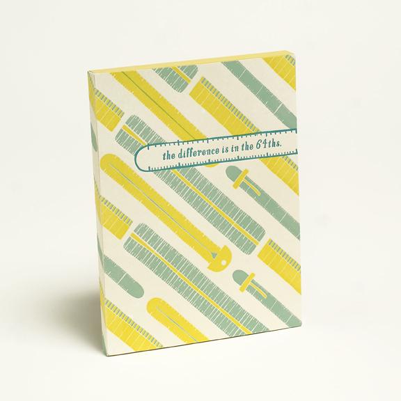 Cleanwash Letterpress Notebook