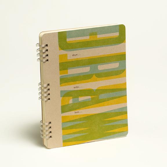 Smart & Wiley Letterpress Notebook