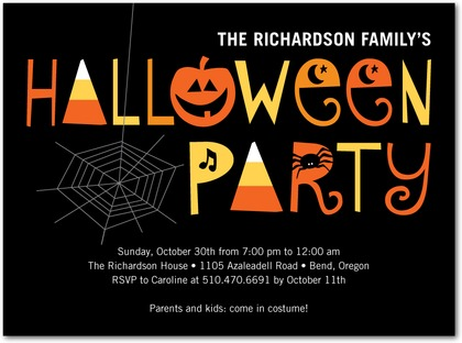 halloween party invitations, part 1 - paper crave, Party invitations