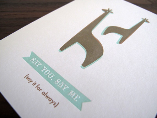 Lulu Dee Letterpress Greeting Cards
