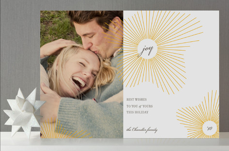 Float Paperie Joy Holiday Photo Cards