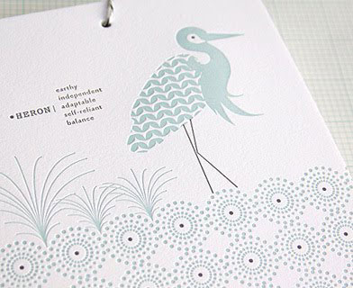 Ink + Wit 2011 Letterpress Calendar