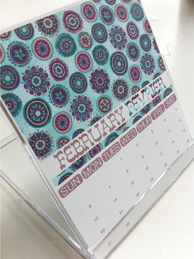 Jessica Swift 2011 Desk Calendar