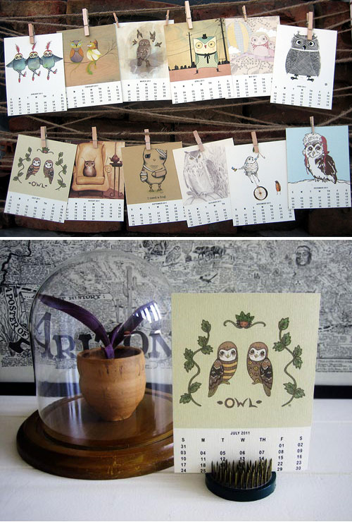 My Owl Barn 2011 Calendar