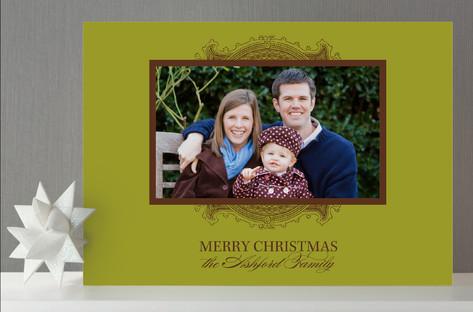 Ornate Frame Photo Cards Wiley Valentine