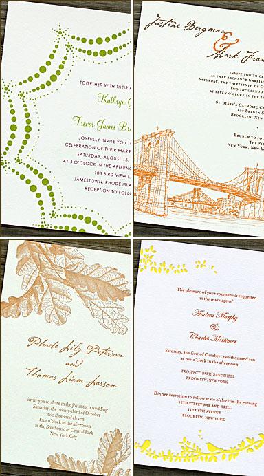 PS Brooklyn Wedding Invitations