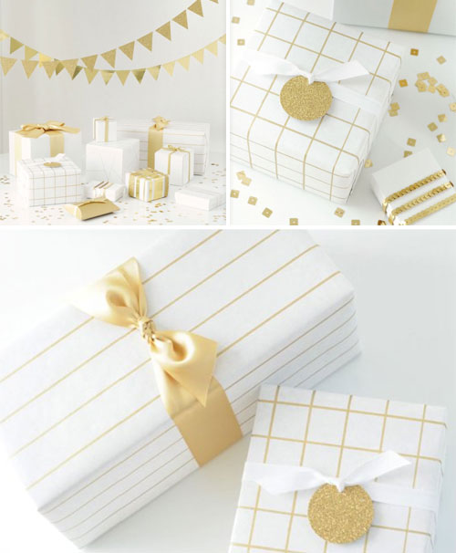 Gilty Pleasures Gift Wrap Ideas