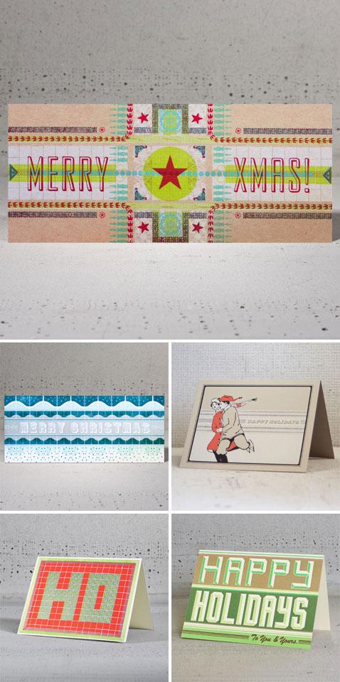 Hammerpress Letterpress Christmas Cards
