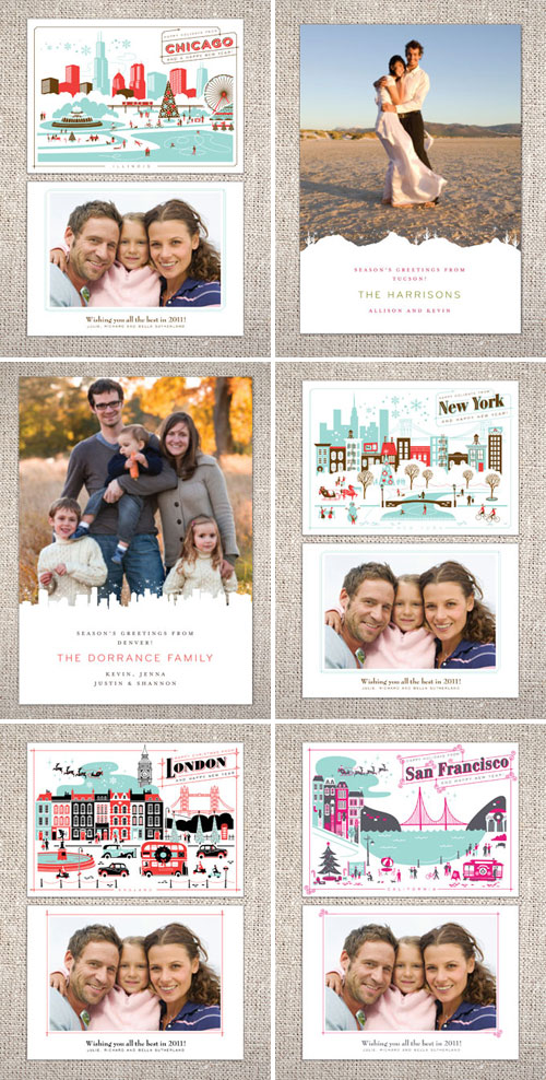 Hello Lucky Destination Holiday Cards