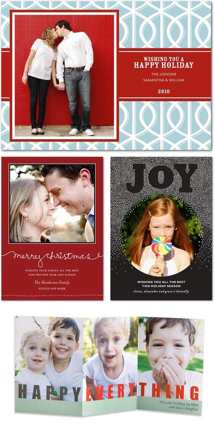 Christmas Photo Cards from Tiny Prints