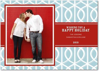 Tiny Prints Iron Gate Holiday Photo Card