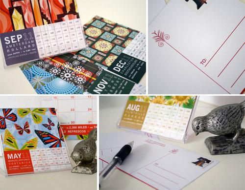 JHill Design 2011 Desk Calendar