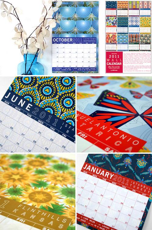JHill Design 2011 Wall Calendar