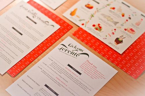JP + Kiera's Wedding Invitations