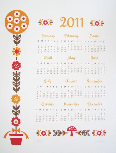 Junecraft Folky Calendar