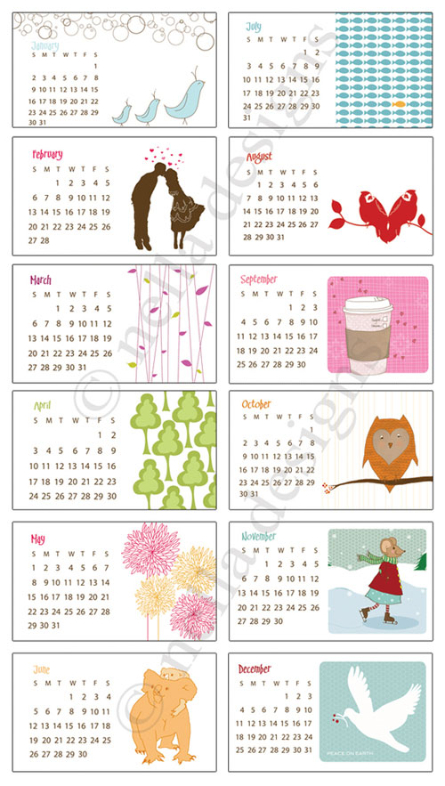 saprimultmix: December 2011 Calendar General Blue