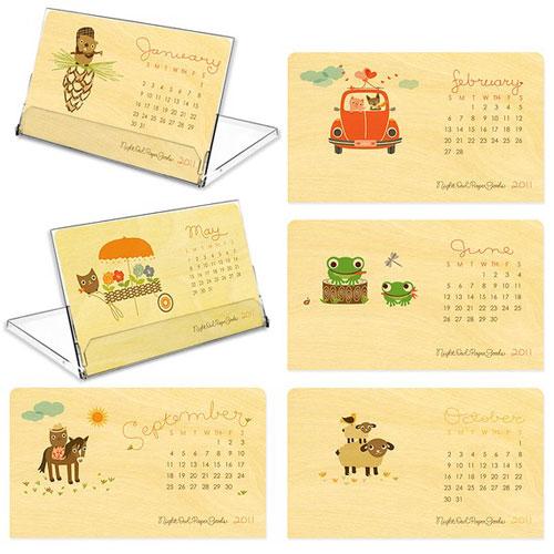 2011 Birch Wood Critter Calendar