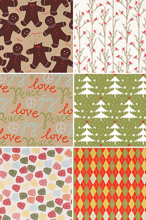 Paper Source Christmas Wrapping Paper