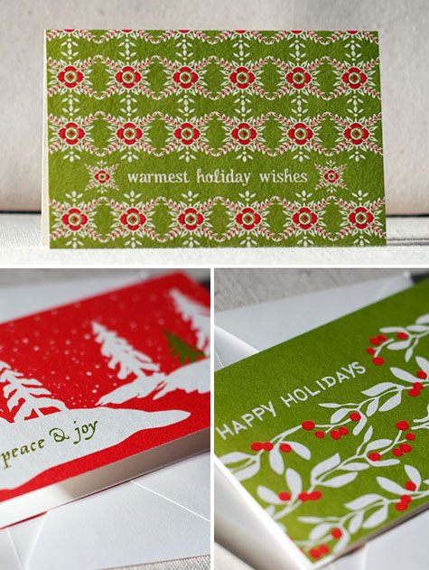 Offset Printed Holiday Cards