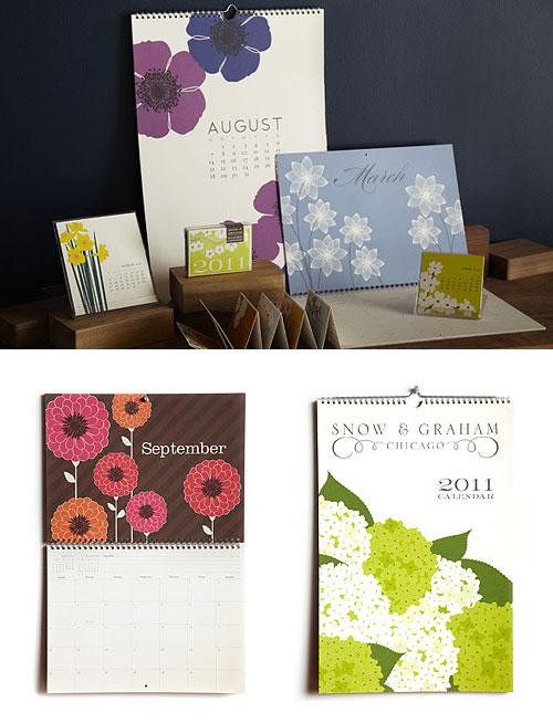 Snow & Graham 2011 Calendars