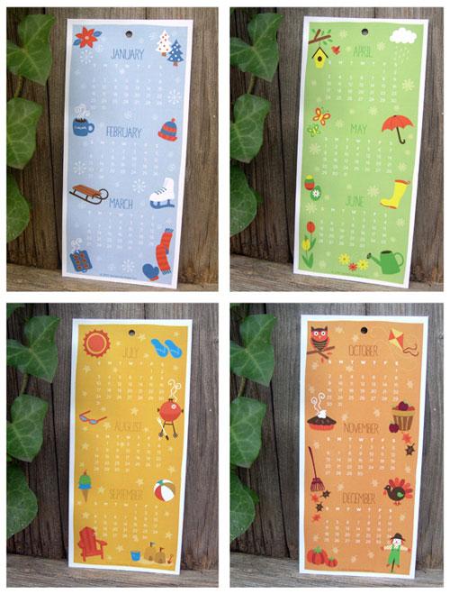Tamarindo Paper Company Calendar