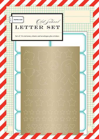 Old School Letter Set