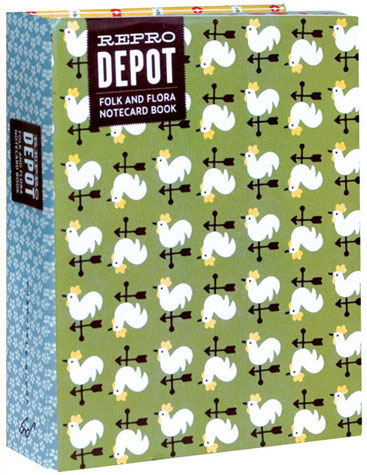 Reprodepot Folk and Flora Notecard Book