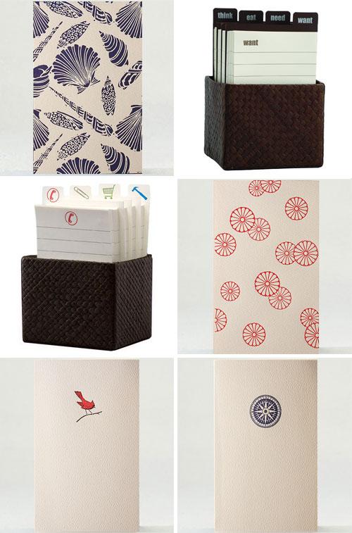 B Designs Letterpress Cards