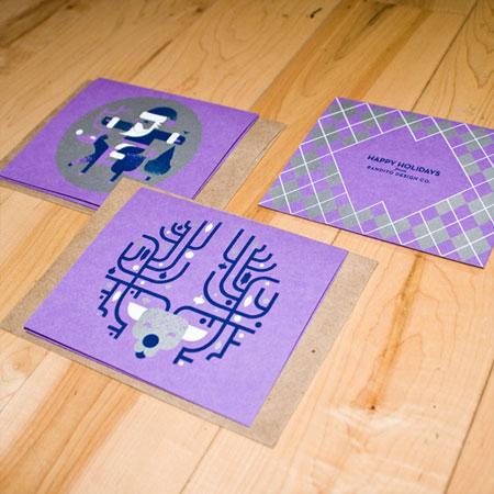 Bandito Design Co Holiday Cards