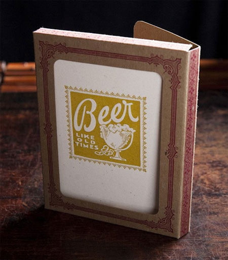 Beer Letterpress Cards