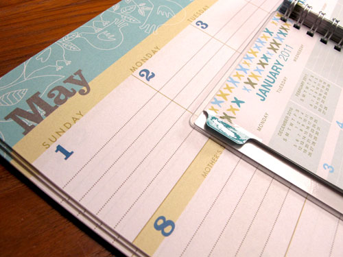 Blue Sky Egg Press Planner