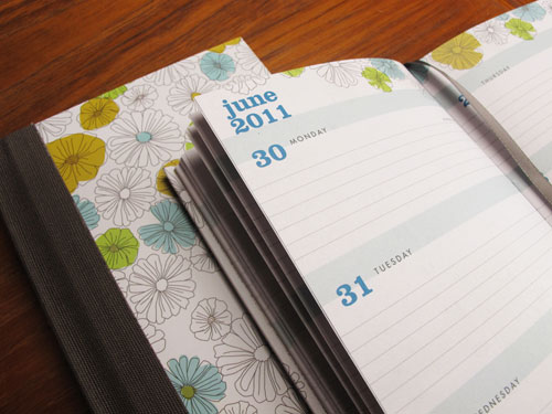 Blue Sky Egg Press Diary Planner